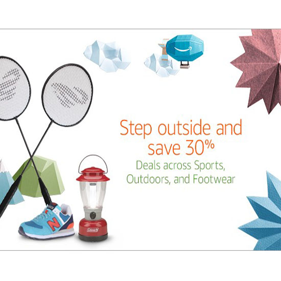 Deal of the Day: Up to 30% Off at Amazon's Step Outside and Save Sale