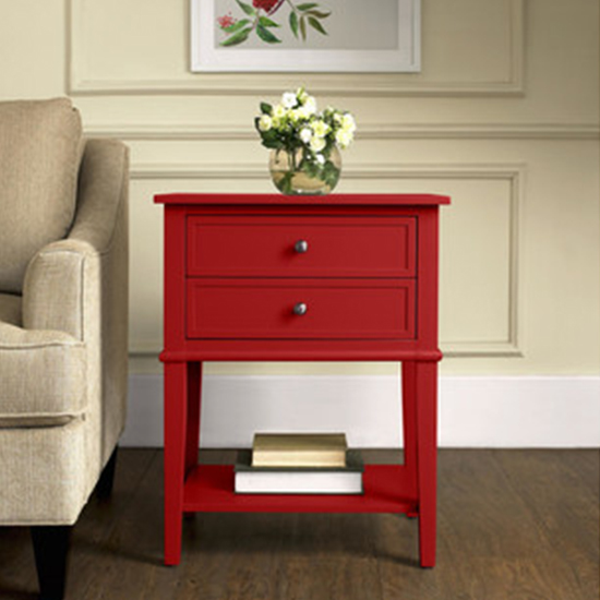 Deal of the Day: 62% Off 2-Drawer End Table