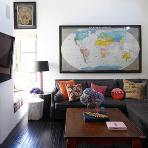 Map Decor for Any Room