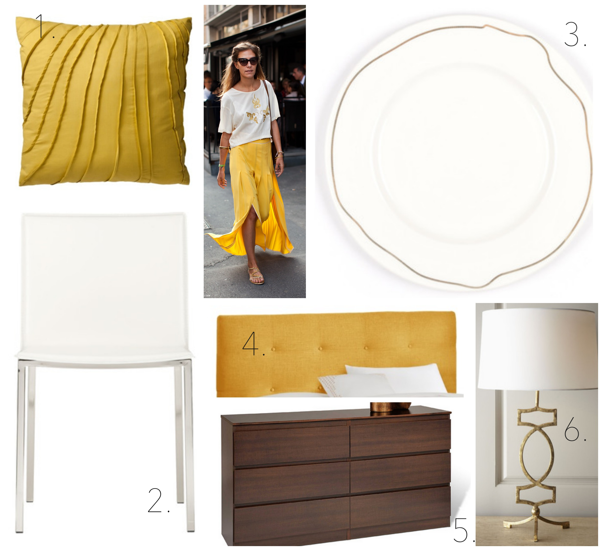 Runway to Color Palette: Finding Yellow