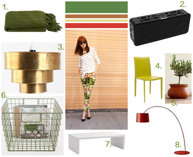 Runway to Color Palette: Cool Copper Accents
