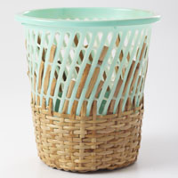 Zambales Storage Basket in Teal
