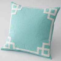 Mint Deco Pillow