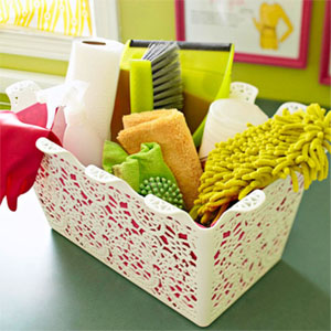 Spring Decorating: Jen's Picks for an Organized Spring Cleaning