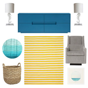 Spring Decorating: Joni's Picks for a Sea-Inpsired Kid's Room