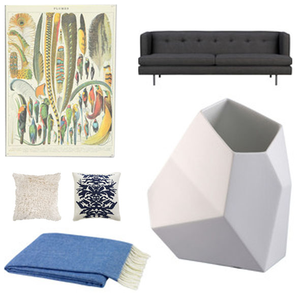 Spring Decorating: Kirsten's Picks for a Lovely Living Room
