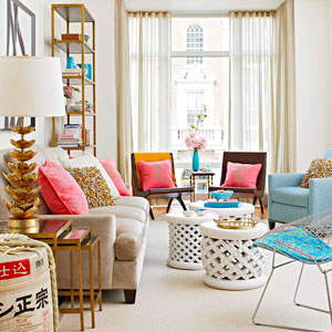 Decorating with Glimmers of Gold