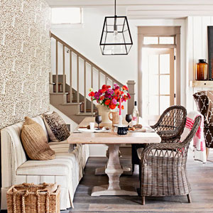 Get the Look: Natural Dining Room