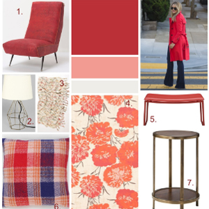 Runway to Color Palette: Crazy for Red