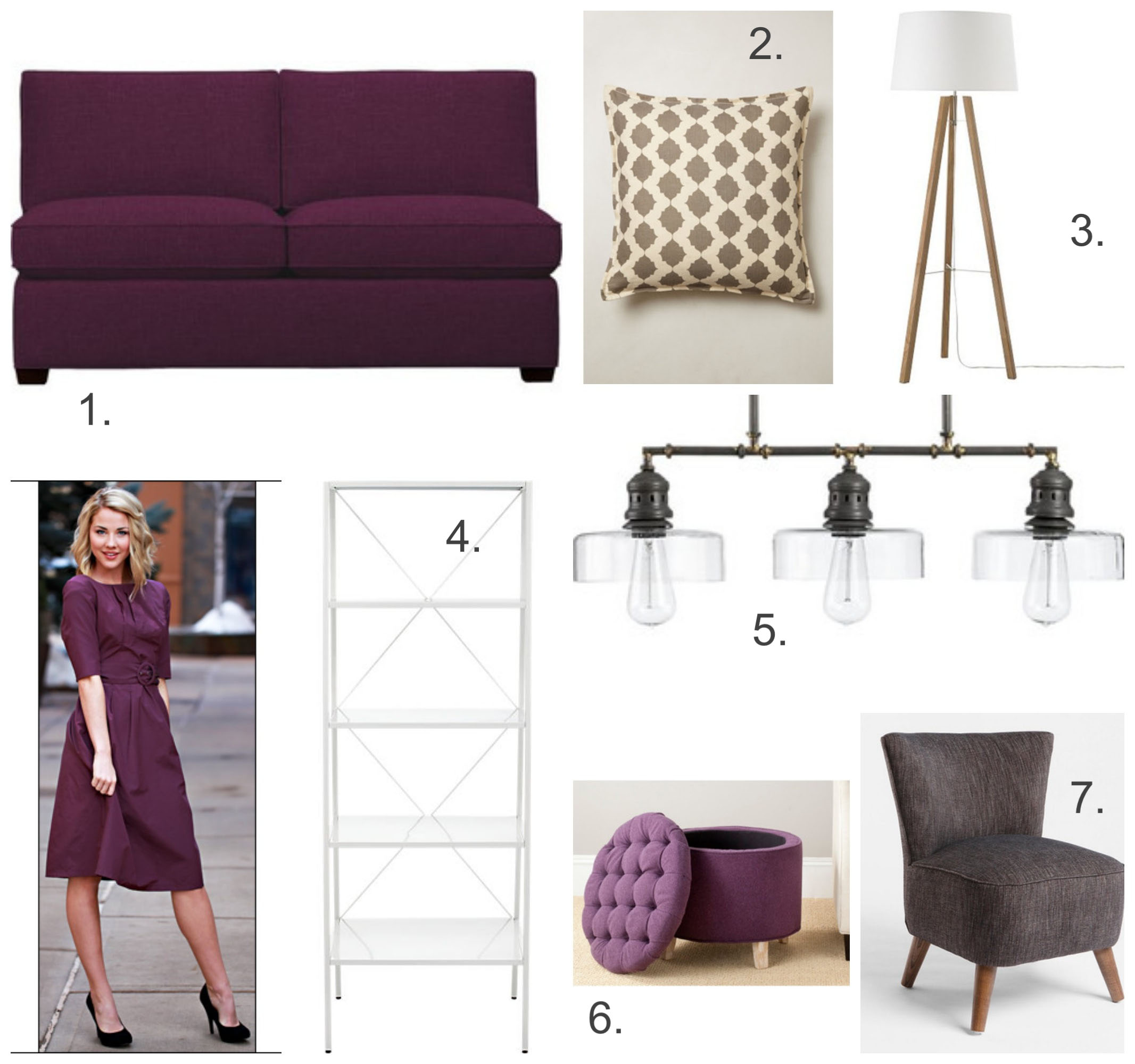 Runway to Color Palette: Plum for Fall