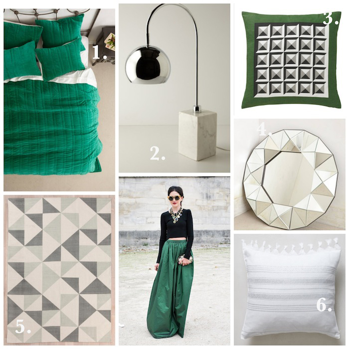 Runway to Color Palette: Green with Envy