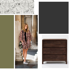Runway to Color Palette: Cozy on Up