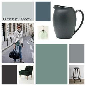 Runway to Color Palette: Breezy Cozy