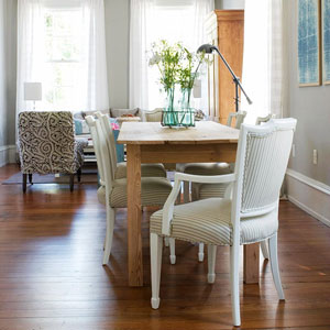 Mixing and Matching: Chairs and Tables