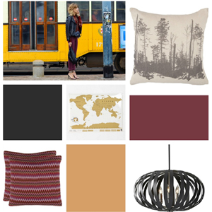 Runway to Color Palette: Berry Red