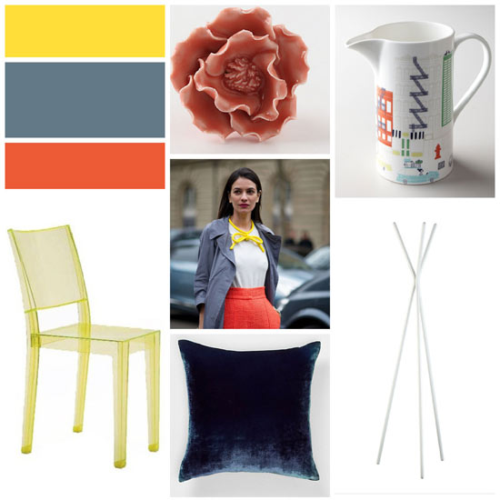 Runway to Color Palette: Mixing Yellow