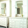 Vanities with Vertical Storage