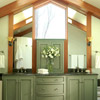 Double Vanity with Natural Light