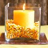 Candle Display with Corn