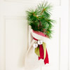 Mini Christmas Tree Door Decoration