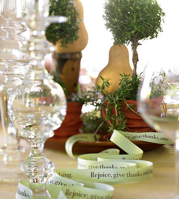 Easy Ribbon Decor