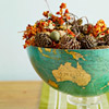 Eclectic Fall Bowl Centerpiece