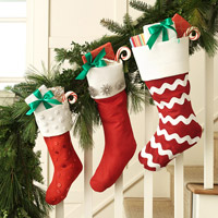Classic Christmas Stocking Inspiration