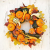 Pumpkin-and-Gourd Wreath