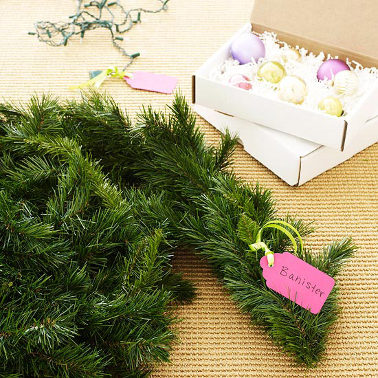 Label Your Christmas Decorations