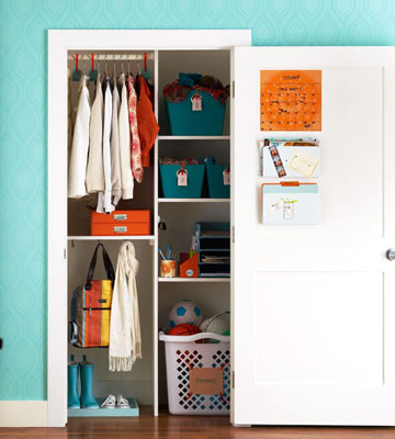 Get the Look: Organized Entry Closet