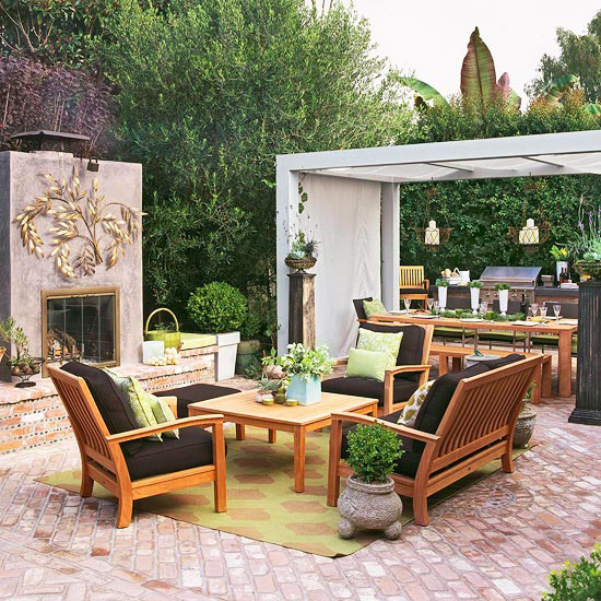 Patio Makeover Reveals