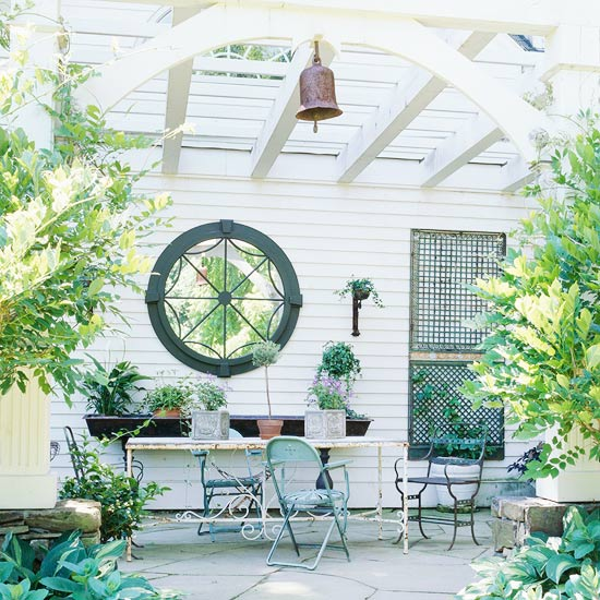 Patio Makeover Diary: NY Stone Patio with Pergola