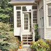 Pretty Entry into Sunroom