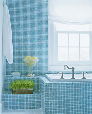 Bathroom Makeover Tour: Spa-Like Bathroom with Seaside Style