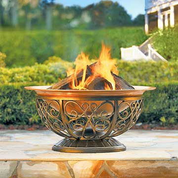 Outdoor Fire-Pit Picks: Open Grills, Fire Pits, and Chimineas
