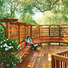Trellis Seating Area