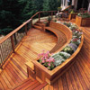 Pretty Curved Bench
