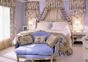 Bedroom Tour: Storage Secrets in a Romantic Bedroom Suite