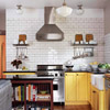 Pop of Yellow Kitchen
