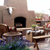 Build a Pueblo-Style Fireplace