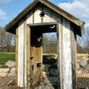 Recycled-Lumber Shed