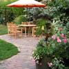 Extend Patio Brick to the Walkway