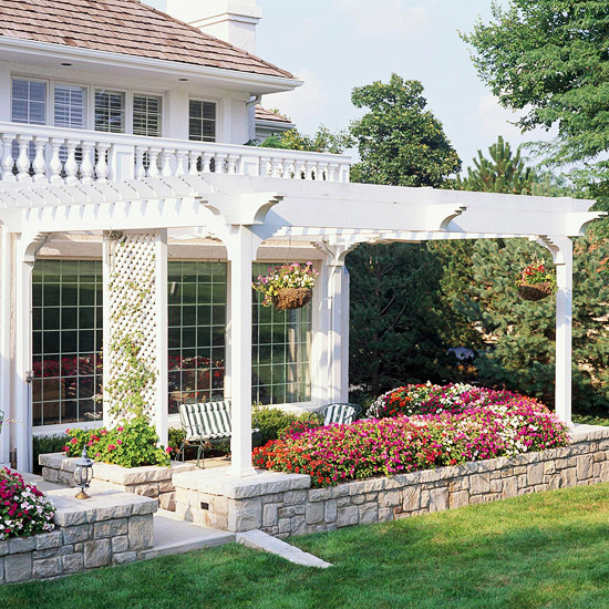Pergola Design Ideas: Attached Pergolas