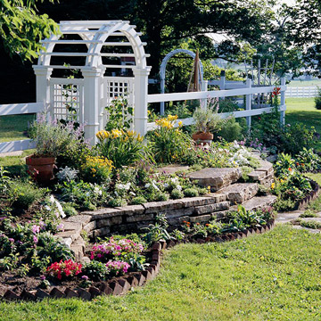 Beautiful Arbors with Fences