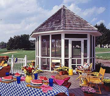 Enclosed Gazebo Ideas