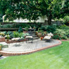 Curved Brick Edging