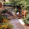Use Walls to Create Patio Enclosures