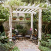 Pergola with Seating Area