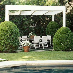 Backyard Landscaping Ideas: Garden Structures