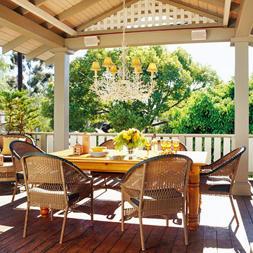 Choose Lighting for Outdoor Rooms